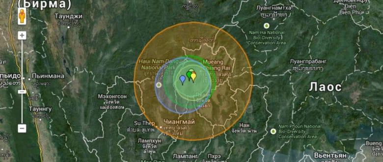 Землетрясение на севере Таиланда 5 мая — наш личный опыт