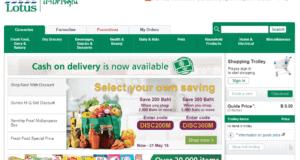 Онлайн-шоппинг и доставка продуктов на дом из Теско
